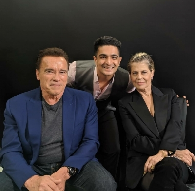 Hollywood action hero Arnold Schwarzenegger was elated to find out that his famous